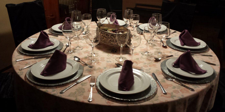 Comedor para celebraciones